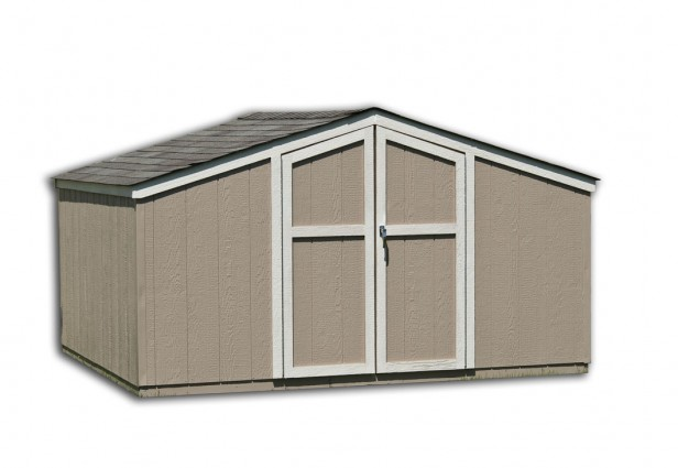 Low Profile Storage Sheds
