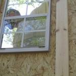 caulk for wood sheds
