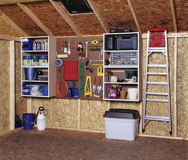 Tool shed storage ideas