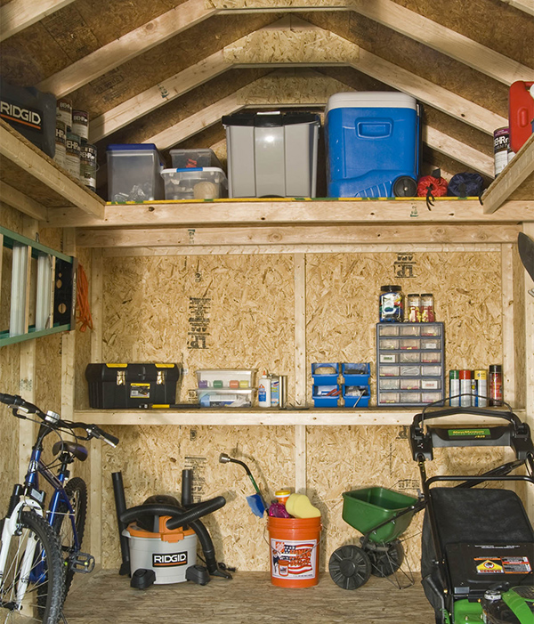 prepare shed for winter