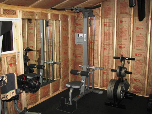 Benefits of turning your shed into a gym