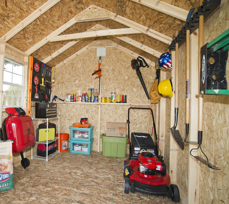 Organize Your Shed with Pegboards | Shed Liquidators