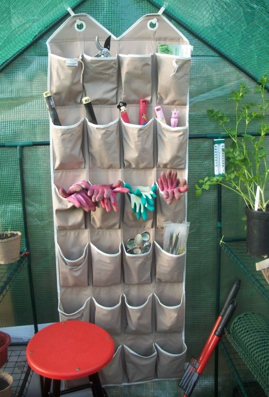 Small Water Garden Needs No Electricity Just Place Pots: Garden Tool Storage Solutions That Will Get You Organized