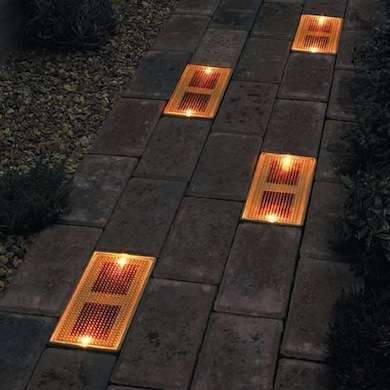 Diy backyard lighting ideas to brighten up your landscape for In ground walkway lights