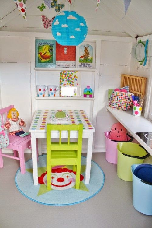 Convert your shed to a playhouse for Playhouse interior designs