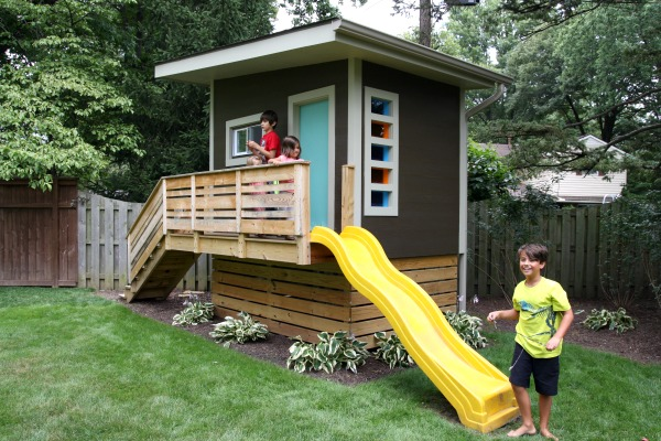 Convert Your Shed To A Playhouse