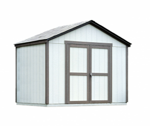 gable storage building