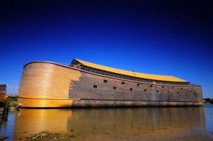 noah's ark made out of wood