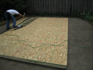 building codes for sheds