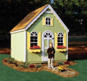 Genial Playhouse Shed