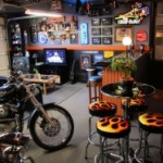 motorcycle man cave sheds