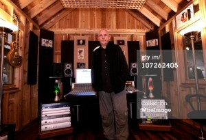 music studio shed