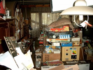 Compulsive hoarding in homes