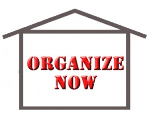 organizing sheds for holiday decorations