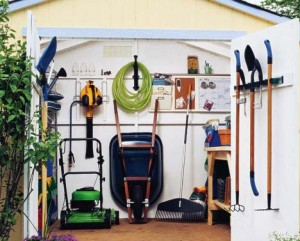 organize shed