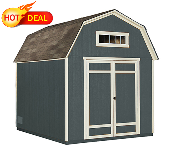 wooden cabin shed