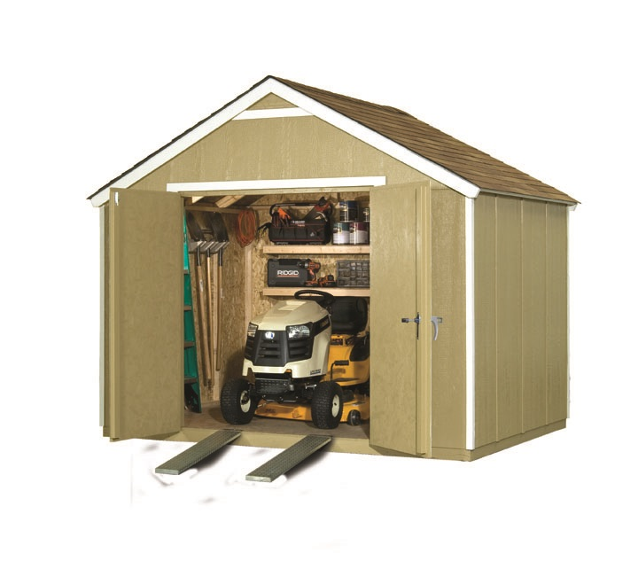 best ways to clean my shed