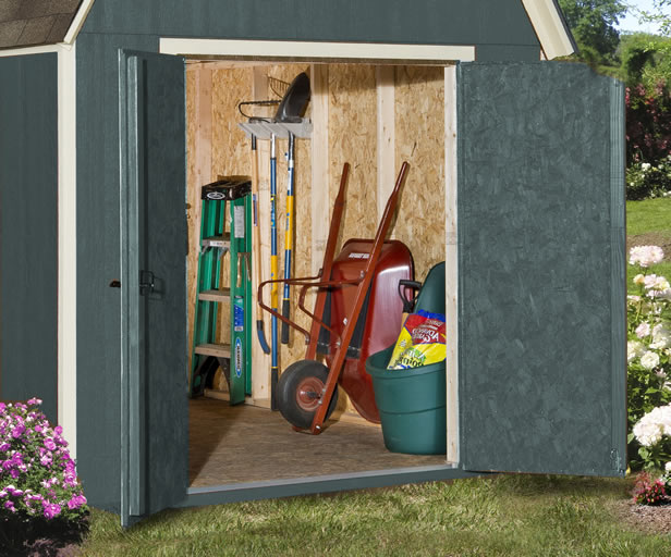 storage solutions for backyards