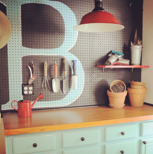 functional decorative pegboard from inhis.com