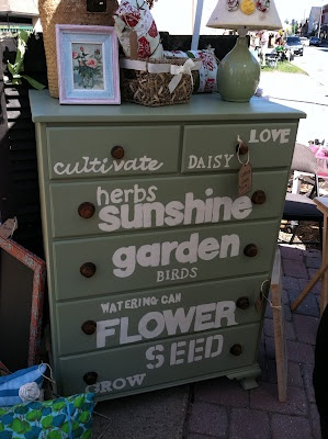 How to reuse old dressers for shed storage and organization for Furniture yard sale near me