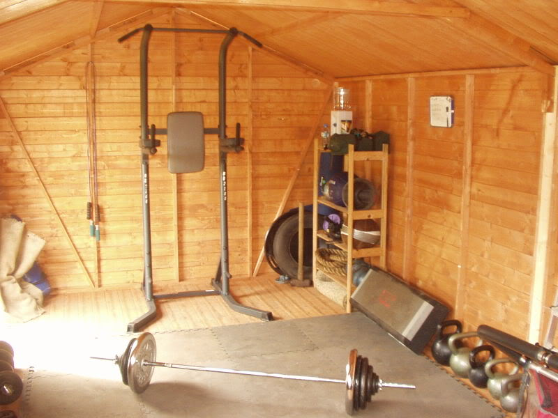 Benefits of turning your backyard shed into a gym