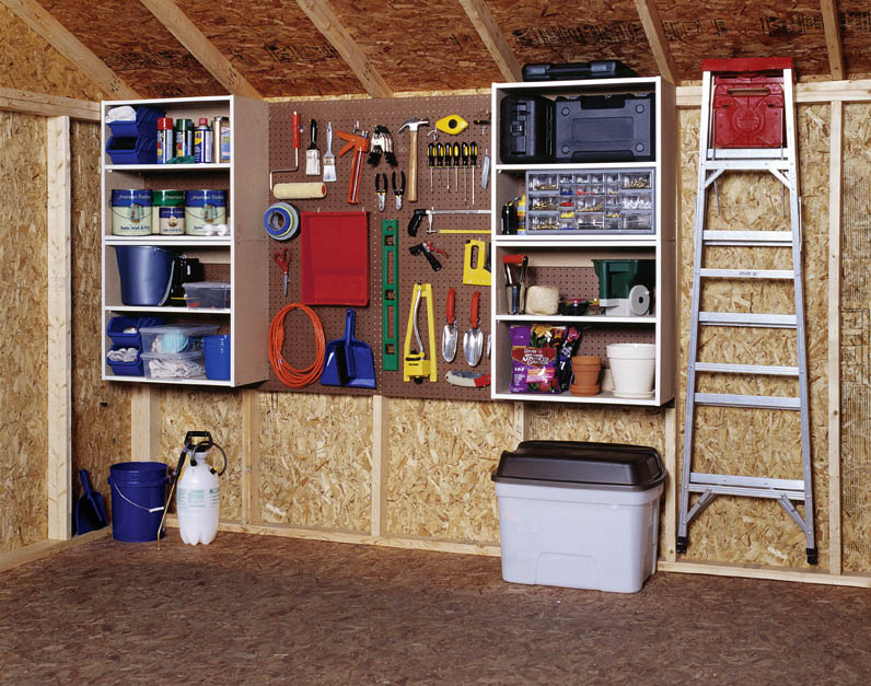 pegboard organization board How to Organize Your