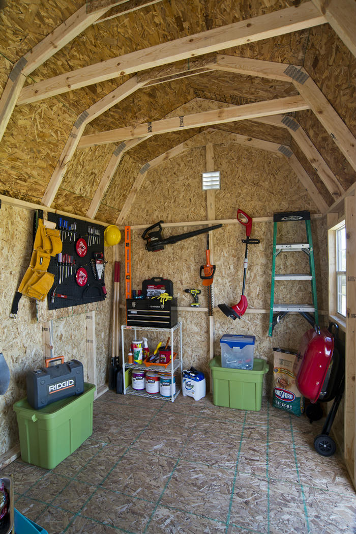 How To Organize Your Shed With Peg Boards Shed Liquidators