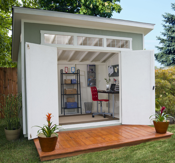 shedworking home ideas