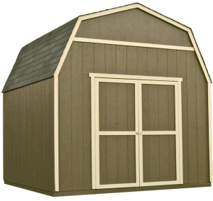 Our Gambrel shed