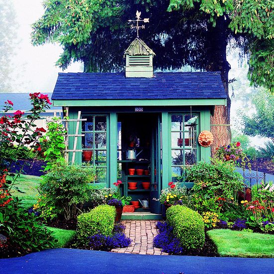 painting shed ideas