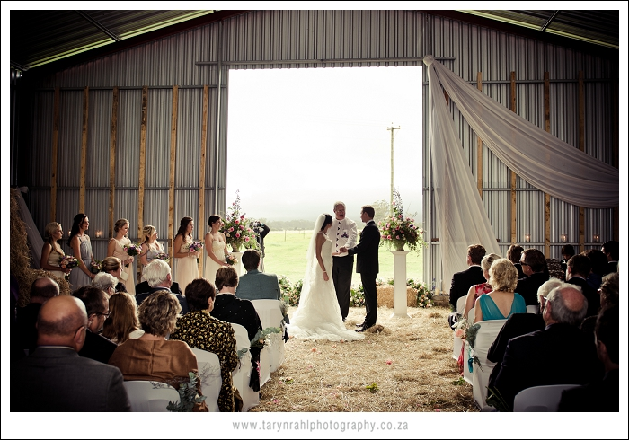 Check out Gita's and Rick's shed wedding on Oh Darling Days.