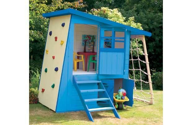 Cool Shed Playhouse. Source: Hitched