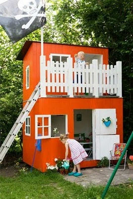 shed conversion playhouse
