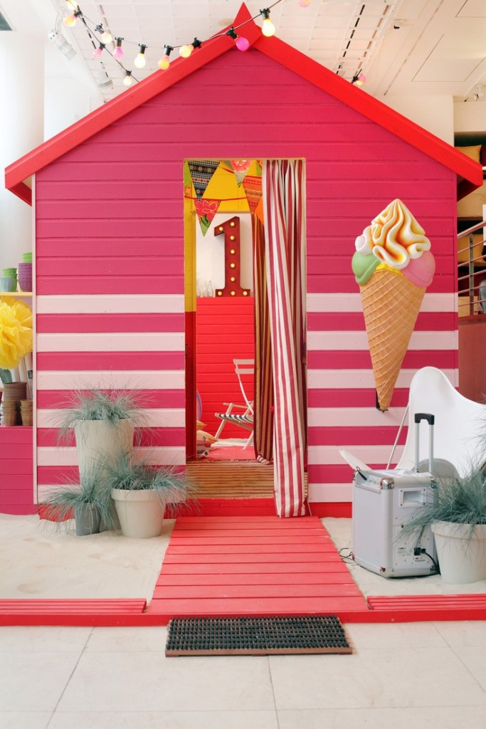 Magical Kid Cave with ice cream on top! Source: Pinterest