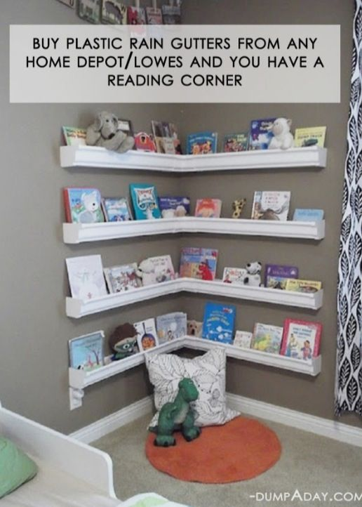 Add a reading nook to your Kid Cave. Source: Restoration Beauty.