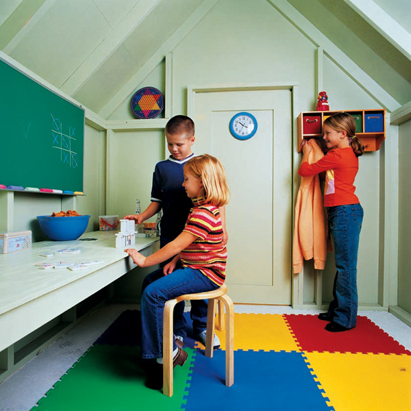 shed playhouse cave idea