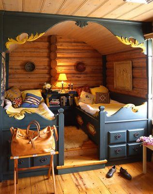Sleepovers in the backyard shed, make a great idea for a Kid Cave! Source: Katrin Leblond