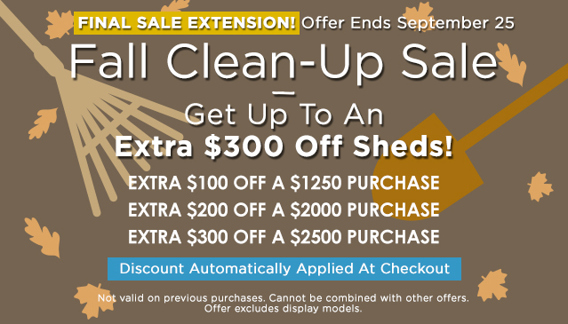 Fall Clean-Up Sale