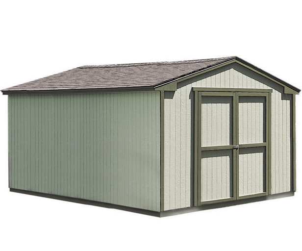 10x16 Shed Features 6u0027 Walls.