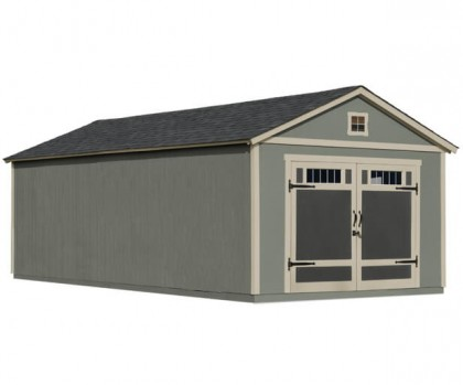 Ideal for traditional storage with leftover space for tractors, ATV's and more.