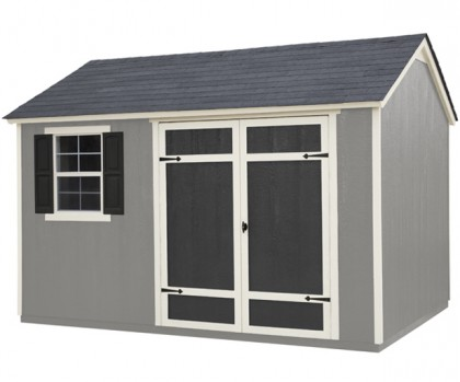 12x8 shed with tons of built-in versatility.