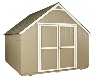10x12 tool shed with lots of affordable features.