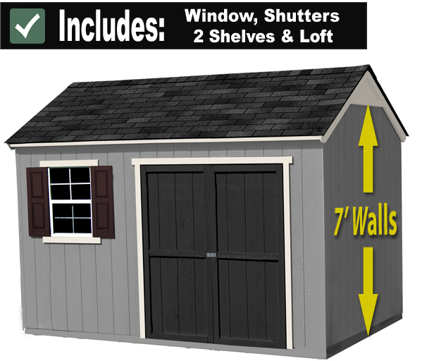 Garden Sheds 12x8 12x8 shed - built on site with free installation