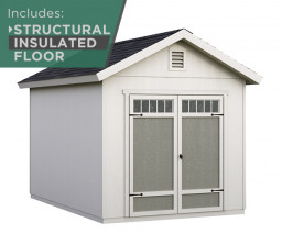 8x12 Gable Shed Deluxe