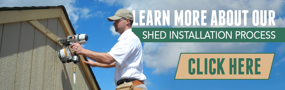 shed installation process explained