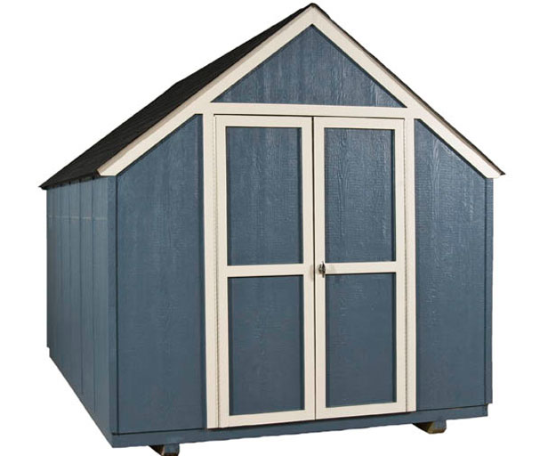 this 8x12 garden shed is strong on the inside - Garden Sheds 8 X 12