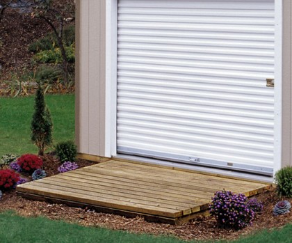 Wood ramps are treated to stand up to the elements.