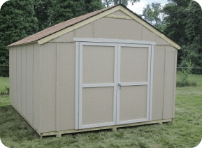 gable shed installation