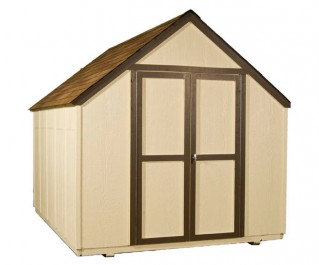 8x10 shed designed to fit any backyard.
