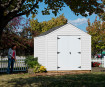 8x8 shed will provide years of functional storage while meeting most HOA requirements.